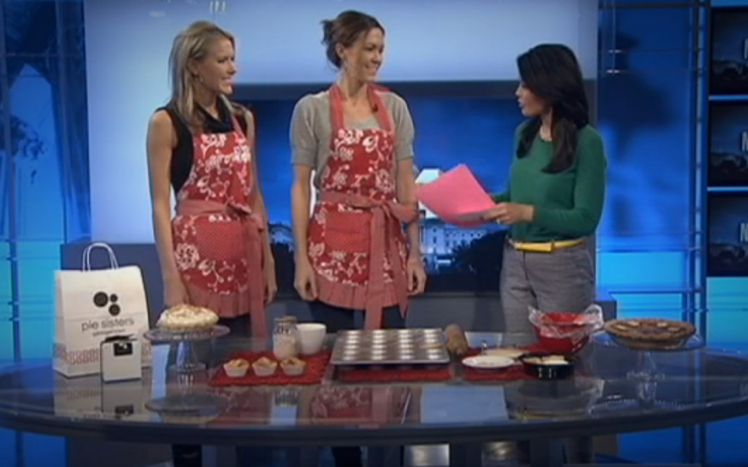 "Pie Sisters ""Show Off Their Skills"" on NBC Washington"